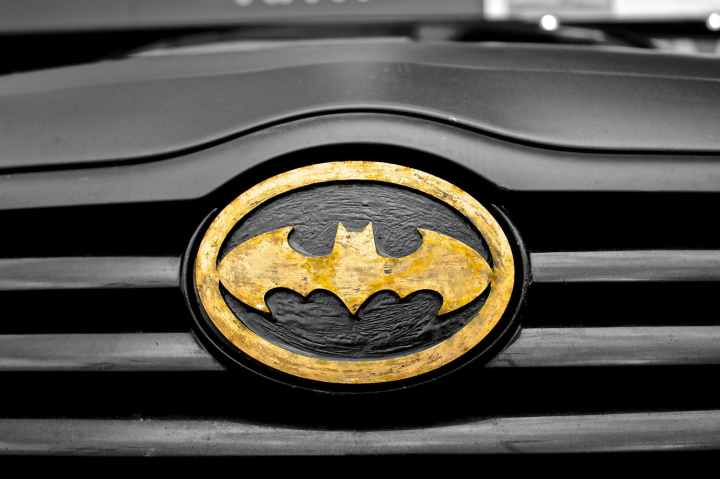 batman car comic book hero