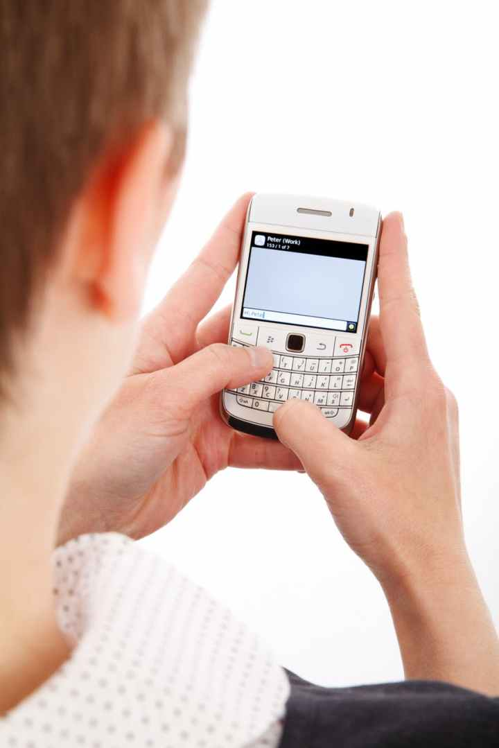 woman girl writing technology