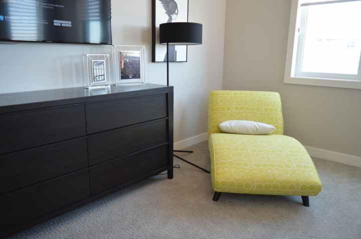 apartment architecture bedroom carpet
