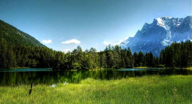 alpine clouds daylight europe
