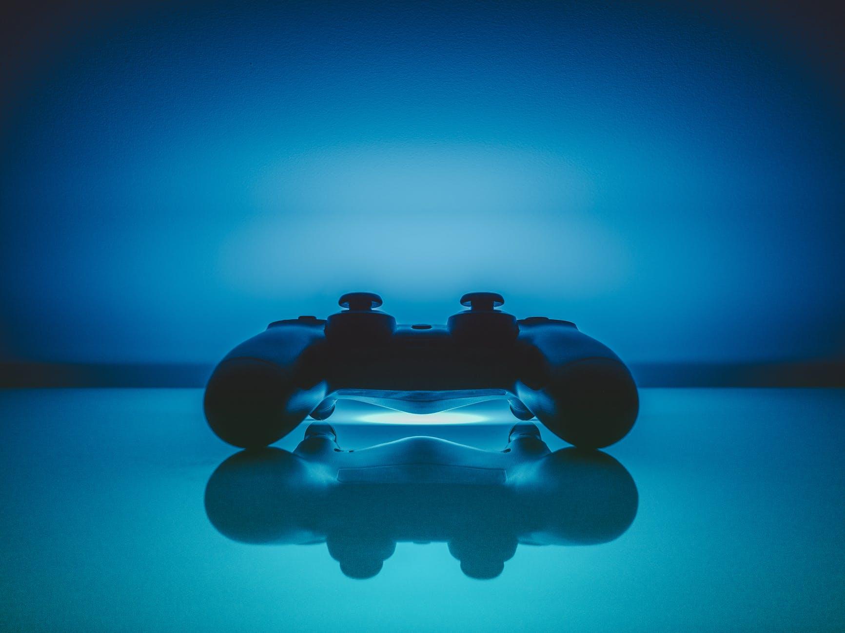 reflection playstation pad gaming