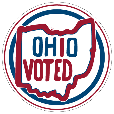 ohio election voting sticker