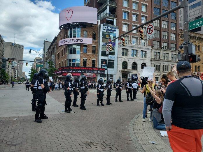 George Floyd police protests